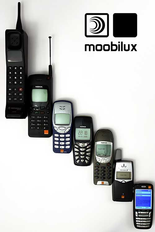 Mobiltelefon-Evolution